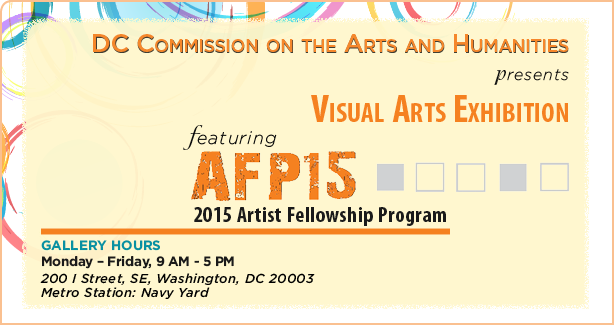 2015 Artist Fellowship Program: Visual Arts Exhibition