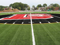 The New Dunbar High School Athletic Field 50 Yard Line