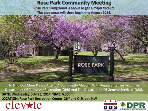 Rose Park Community Meeting July 23, 2014 at 6:30 pm (Download an accessible version, below)