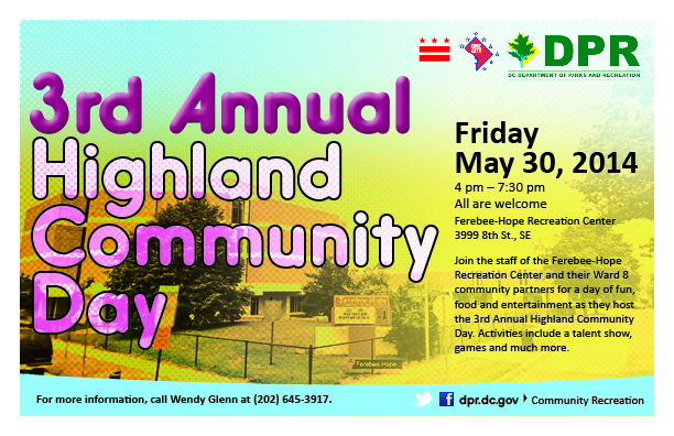 3rd Annual Highland Community Day