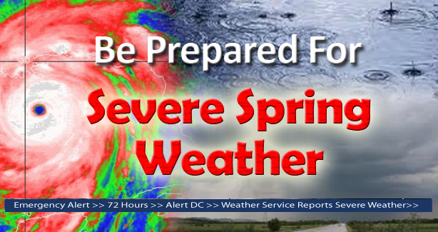 Severe Spring Weather-Be Prepared