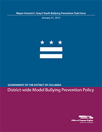 District-wide Model Bullying Prevention Policy