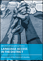 Language Access Compliance Review FY13