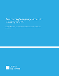10 Years of Language Access in DC Report