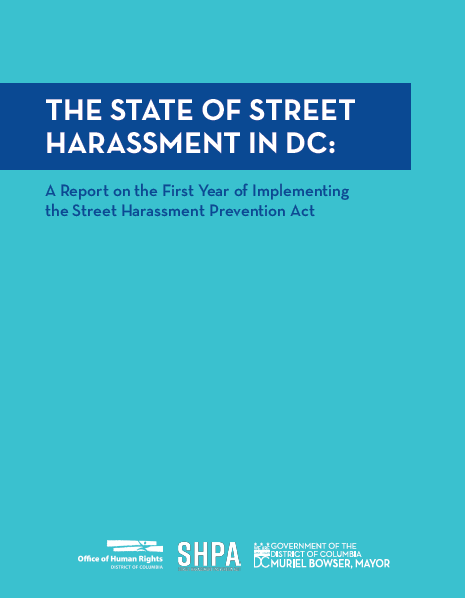 State of Street Harassment Report Cover: 2020