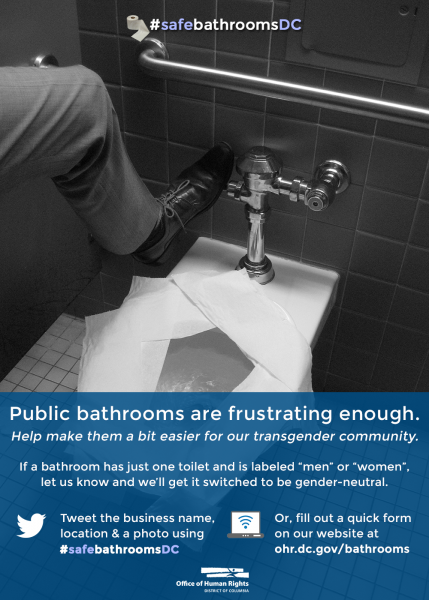 Safe Bathrooms DC Ohr - Why gender neutral bathrooms are important
