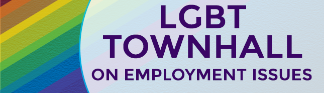 LGBT Town Hall on Employment Issues