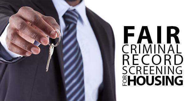 Fair Criminal Record Screening for Housing