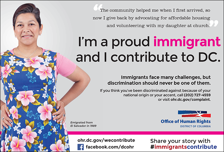 Immigrants Contribute Campaign: Ana's Ad