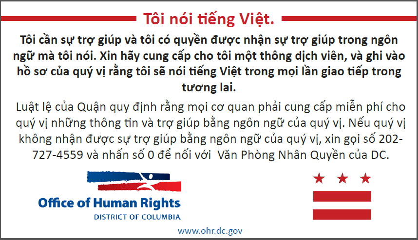 I Speak Vietnamese