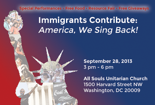 Immigrants Contribute Event