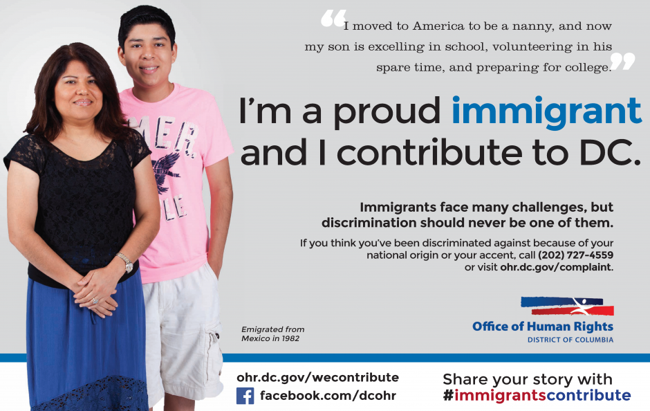 Immigrants Contribute Campaign: Lucy and Carlos Ad