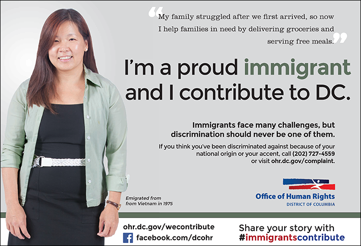 Immigrants Contribute Campaign: Therese's Ad