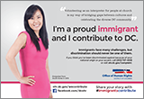 Immigrants Contribute Campaign: Ad Featuring Anna