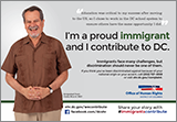 Immigrants Contribute Campaign: Ad Featuring Arnoldo