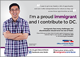Immigrants Contribute Campaign: Ad Featuring Gary