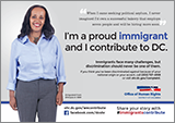 Immigrants Contribute Campaign: Ad Featuring Haregewine