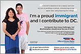 Immigrants Contribute Campaign: Ad Featuring Lucy & Carlos