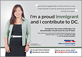 Immigrants Contribute Campaign: Ad Featuring Therese