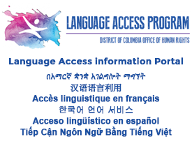 Language Access Information Portal