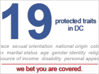 19 protected traits in DC