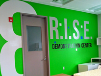 R.I.S.E. Demonstration Center at St. Elizabeths East - entrance