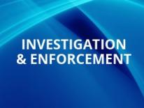 Investigations & Enforcement